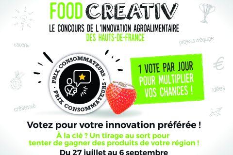 FACEBOOK 480x320 - Concours FOOD CREATIV : lancement du Prix Consommateurs 2020
