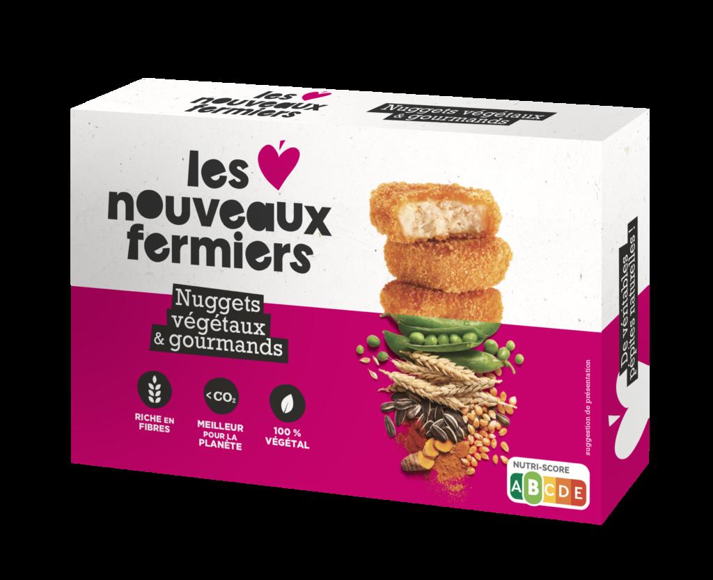 NUGGETS FACE 2 1024x833 1 - Viande végétale, Les Nouveaux Fermiers s'installent chez Monoprix