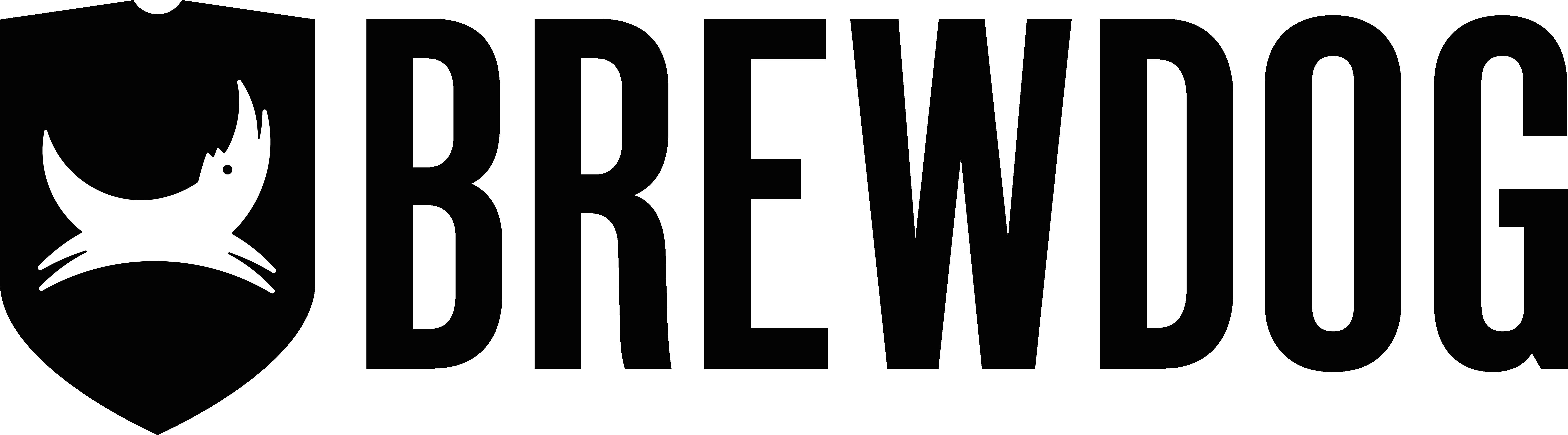 BrewDogLogo Wide Black Master - Brewdog : premier brasseur au monde neutre en carbone