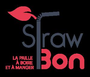 straw bon logo ROUGE 300x255 - Straw'Bon propose des pailles comestibles