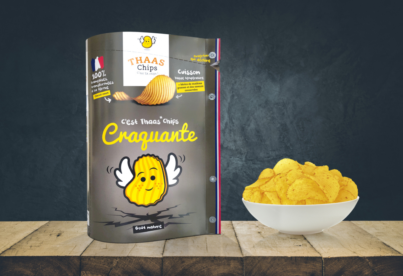 89584 thaas chips craquante 1 - THAAS CHIPS : c'est TA chips !