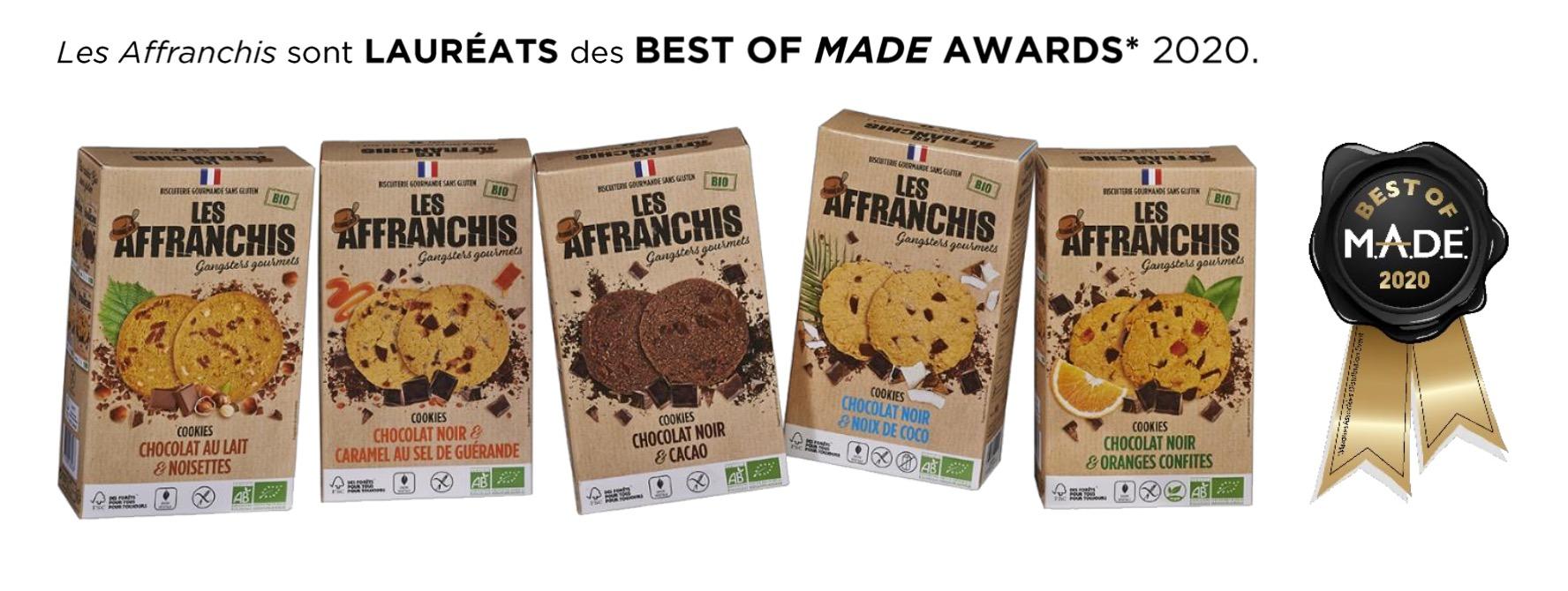 Capture decran 2020 09 02 a 11.56.26 - Les Affranchis lancent la première gamme de cookies bio sans gluten eco-responsables