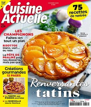 Cuisine Actuelle N°357 Octobre 2020 - Intervention expert pour Cuisine Actuelle