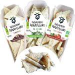 """Gamme crackers So Chevre 150x150 - Des crackers """"chèvrement croustillants"""" pour compléter la gamme So Chèvre Apéro"""