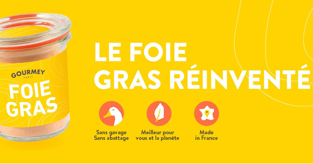 Gourmey foie gras sans gavage - GOURMEY : un foie gras sans gavage ni abattage !