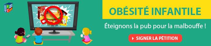 inline 62171 - STOP à la publicité de « malbouffe » pour les enfants