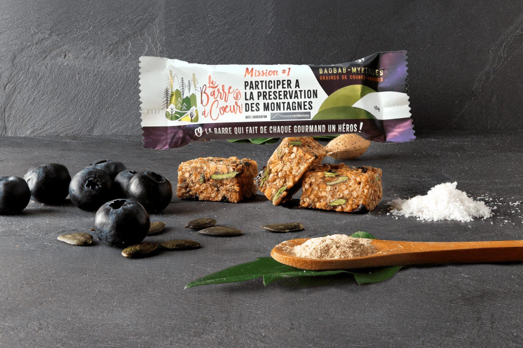 montage produit gourmandise lum - Des barres nutritionnelles pour nous transformer en héros !