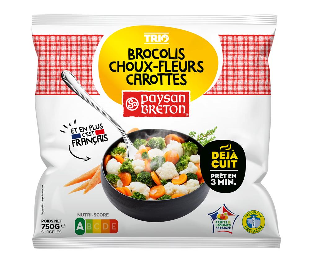 pays01 - Paysan Breton renforce sa gamme de légumes surgelés déjà cuits