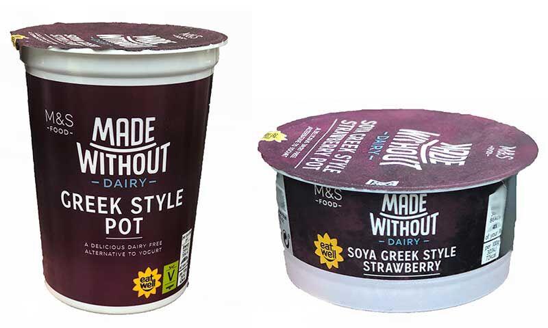 vegan greek yogurt - Un yaourt grec à base de plantes