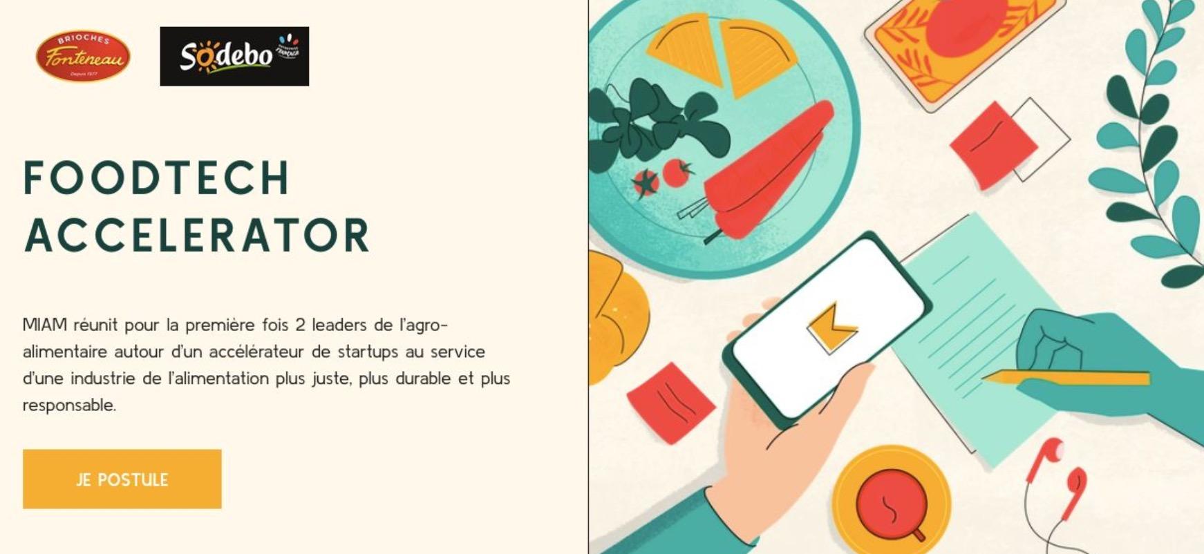 Capture decran 2020 10 20 a 10.26.59 - Lancement de l'appel à candidatures pour la première saison de MIAM, le premier accélérateur dédié à la foodtech