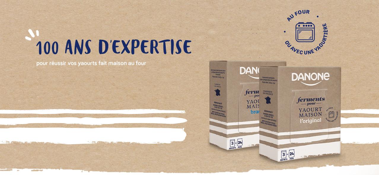 Danone Ferments Header - Danone propose des ferments pour des yaourts maisons