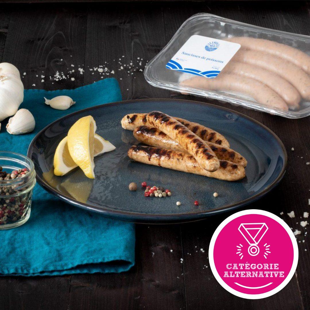 Laureats Food Creativ Saucisses de la mer - Des saucisses de poissons