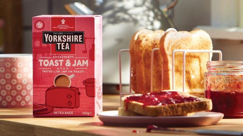 yorkshire teas toast jam - Du thé aux saveurs de pain grillé et confiture