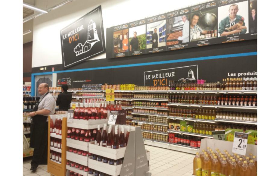 """000138882 5 - Intervention dans le dossier """"Les Français (re)prennent goût aux produits locaux"""" de LSA"""