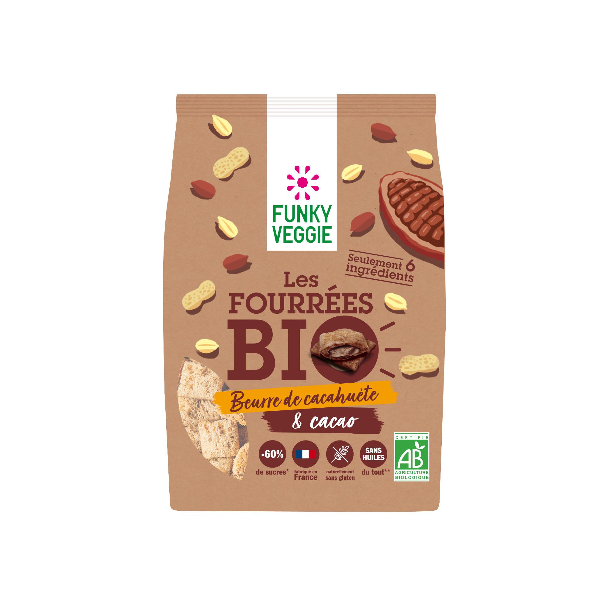 FUNKY VEGGIE  Fourrees Bio Cacao 495E - FUNKY VEGGIE se lance dans le petit-déjeuner