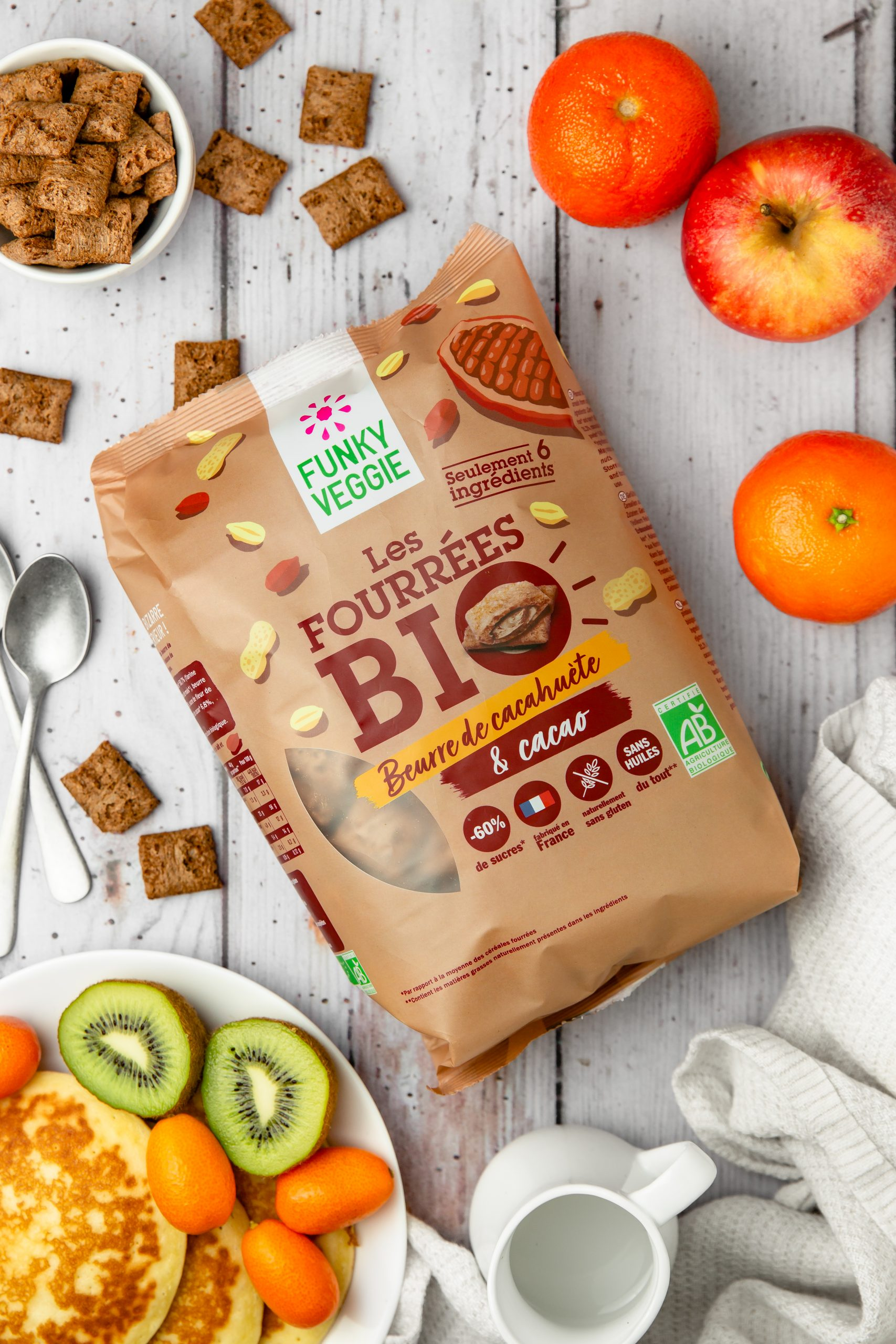 FV Cereales Packshots 5 scaled - FUNKY VEGGIE se lance dans le petit-déjeuner