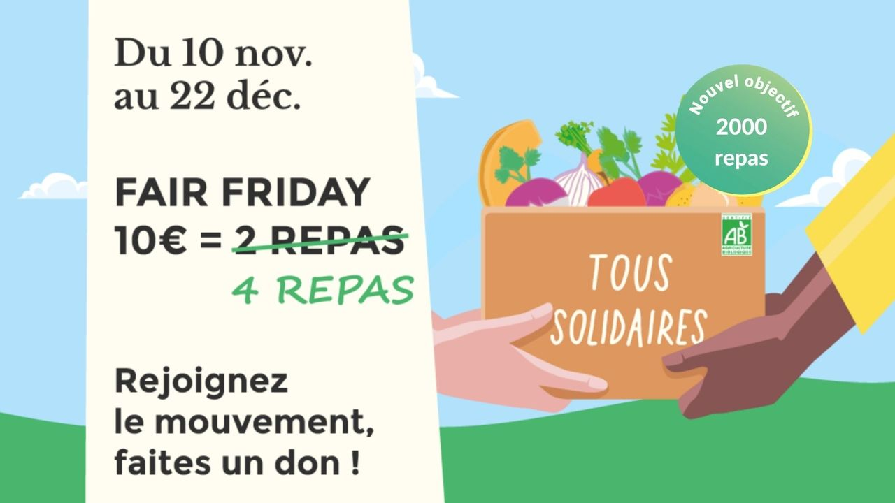 Nouvel Objectif   3000E 13 - Alternative au Black Friday : Rutabago renouvelle son Fair Friday