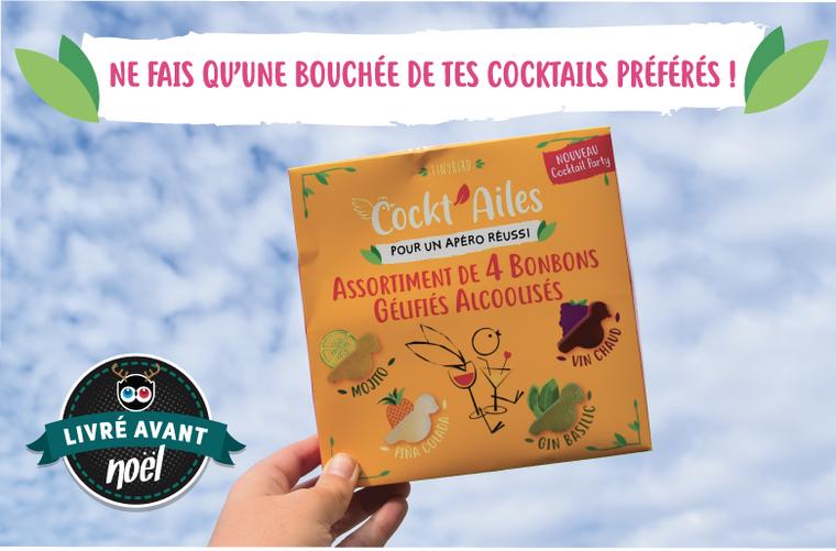 Sans titre 3 - Les Cockt'Ailes, des cocktails sous forme de bonbons gélifiés