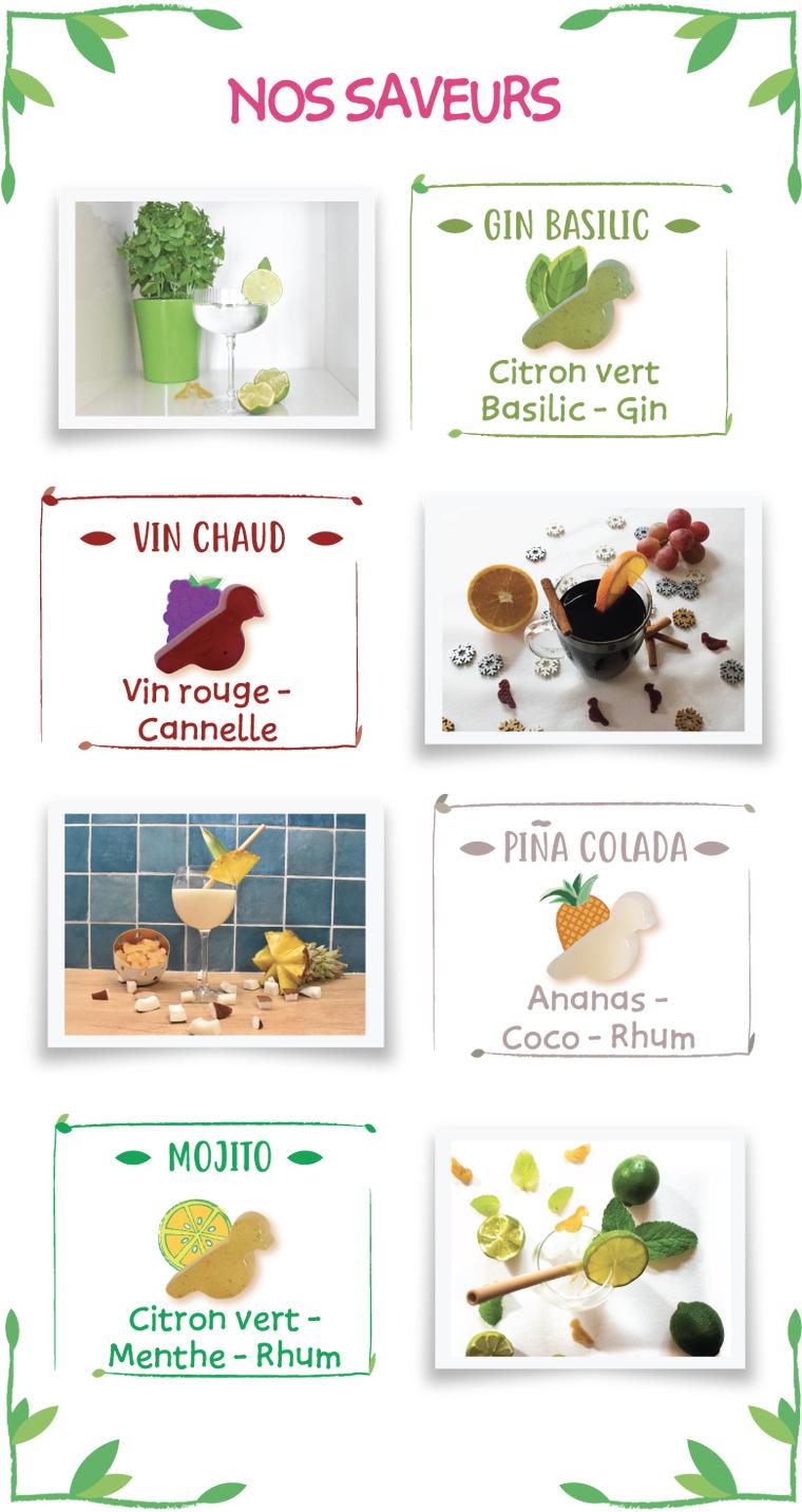 cocktail03 - Les Cockt'Ailes, des cocktails sous forme de bonbons gélifiés