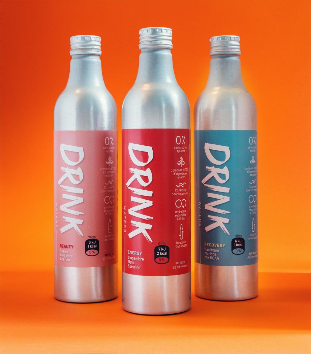drink waters 1 - DRINK WATERS, les eaux fonctionnelles lancées par Kev Adams