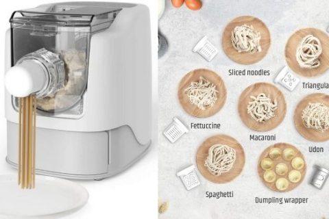 electric pasta maker 480x320 - Une machine pour réaliser tous les types de pâtes