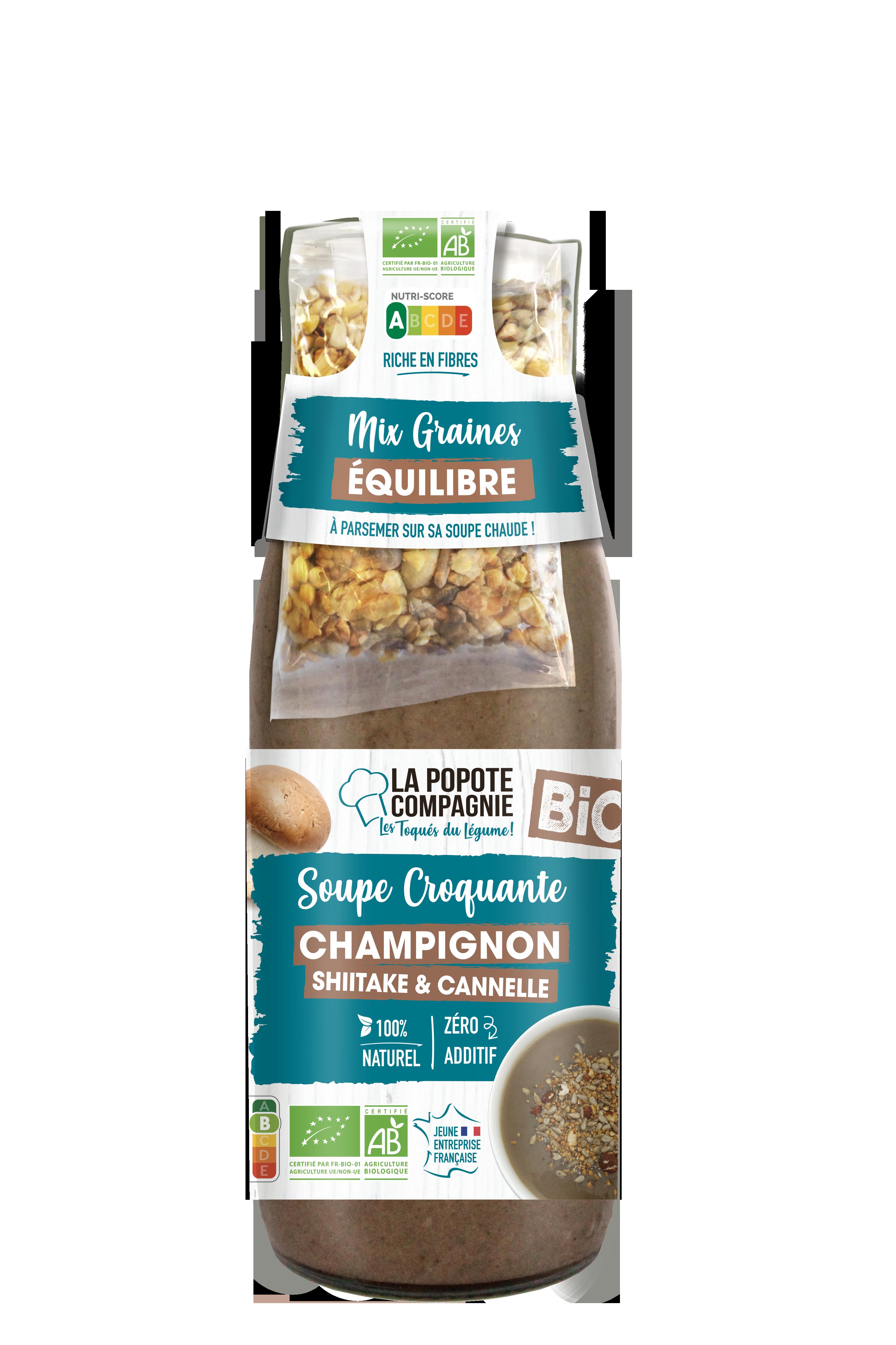 popote Soupe Champignon - Les soupes d'hiver de La Popote Compagnie
