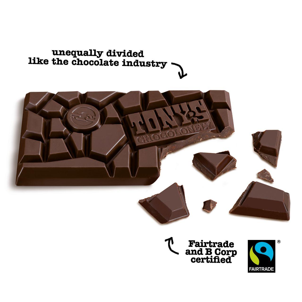 TC nakedbar dark - Tony's Chocolonely collabore avec Pharrell Williams
