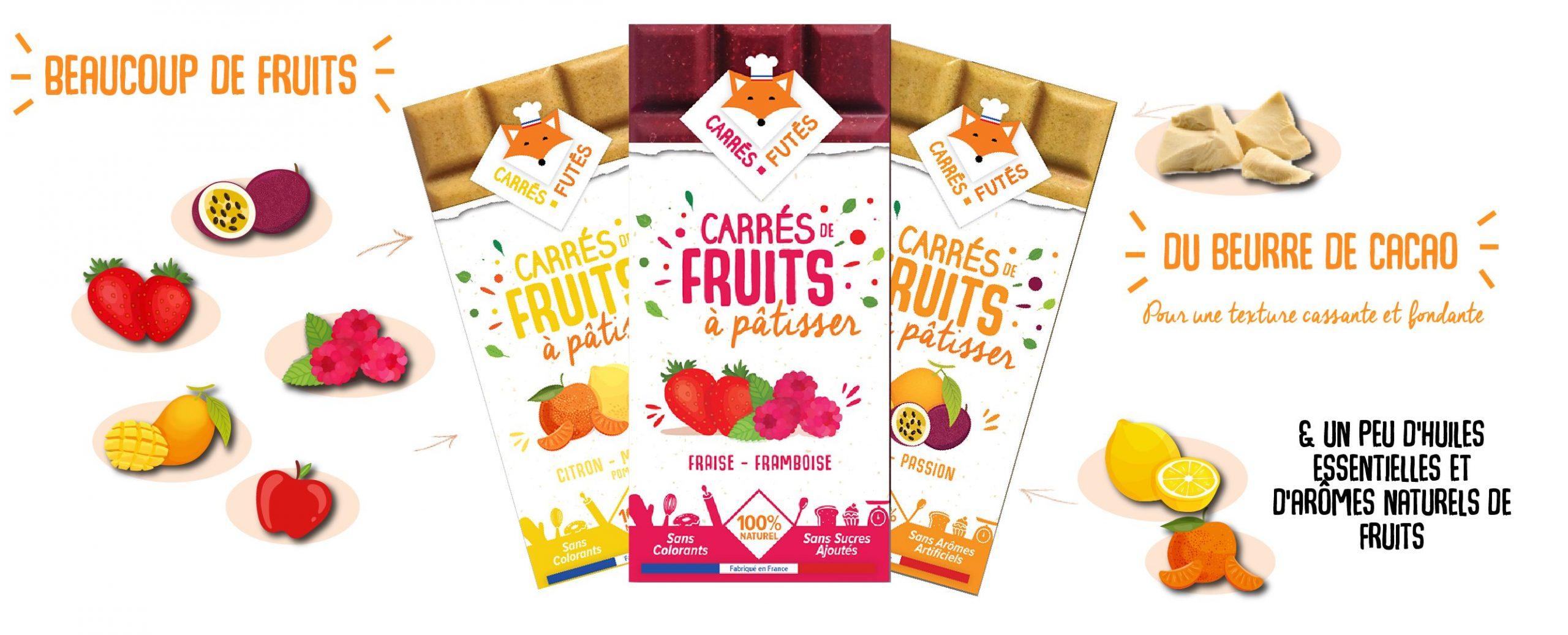 compo 2 scaled - Carrés Futés propose ses Carrés de fruits à pâtisser