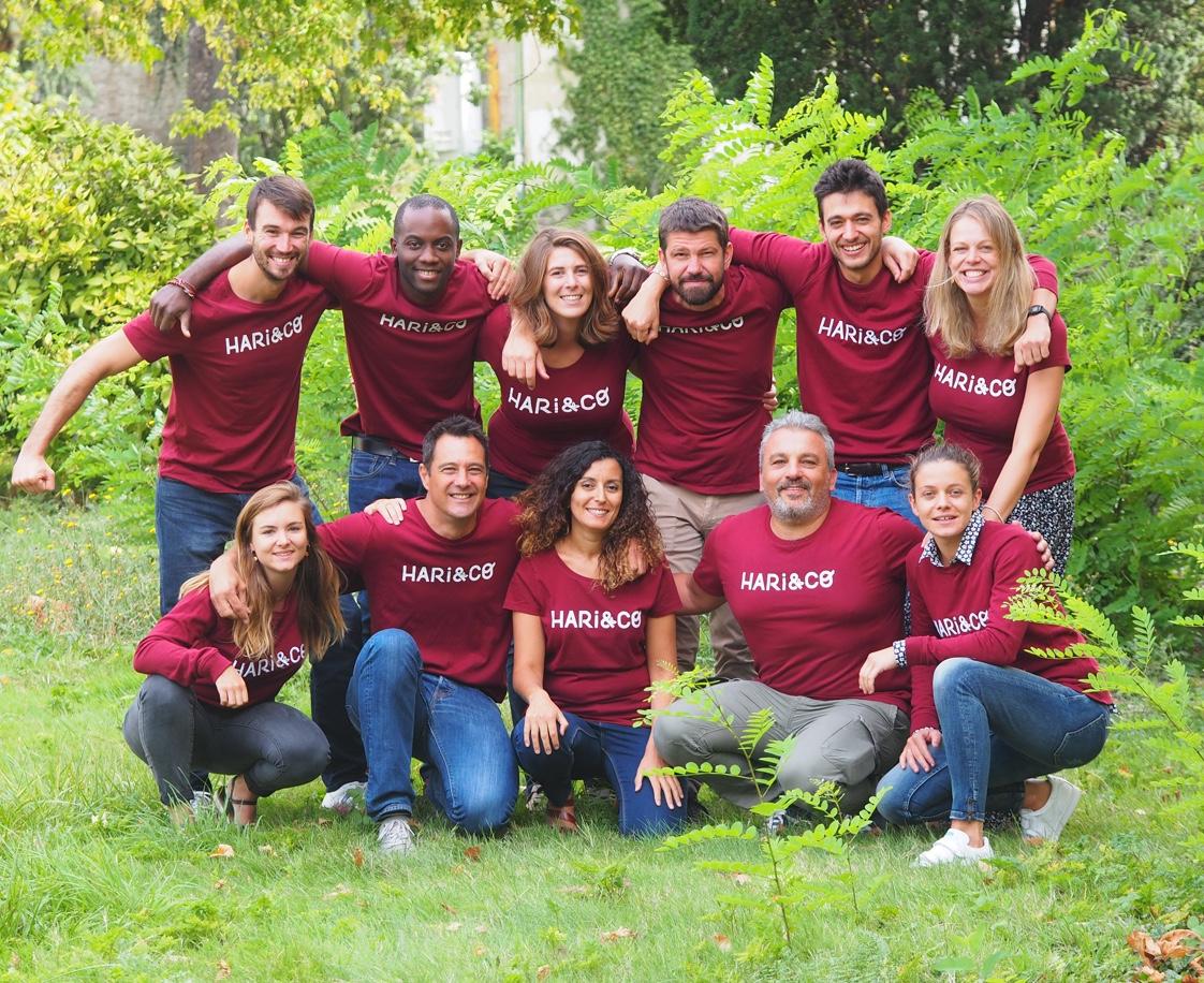equipe hari and co startup legumineuse - Start-up : comment avancer vite ET bien ? La success story Hari&Co (2/3)