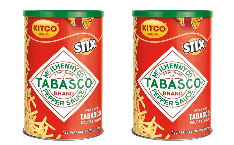 kitco stix - Tabasco propose une édition limitée de frites