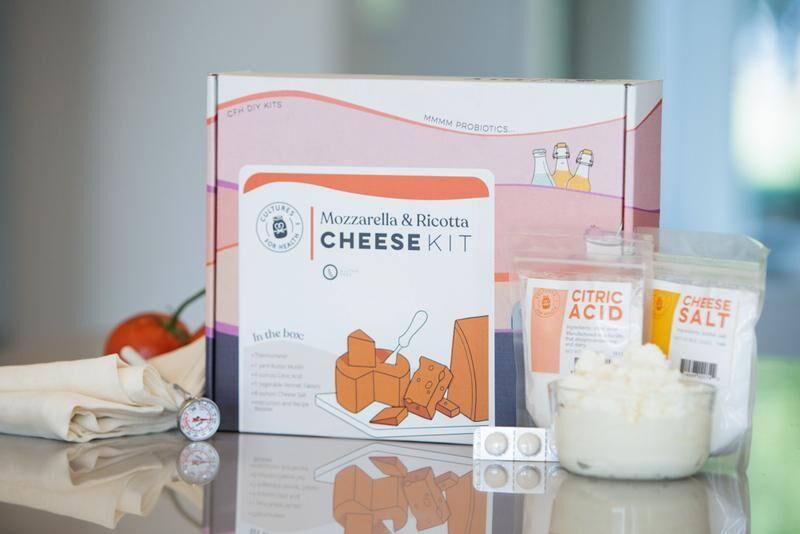 mozzarella and ricotta - Faire son fromage à la maison !