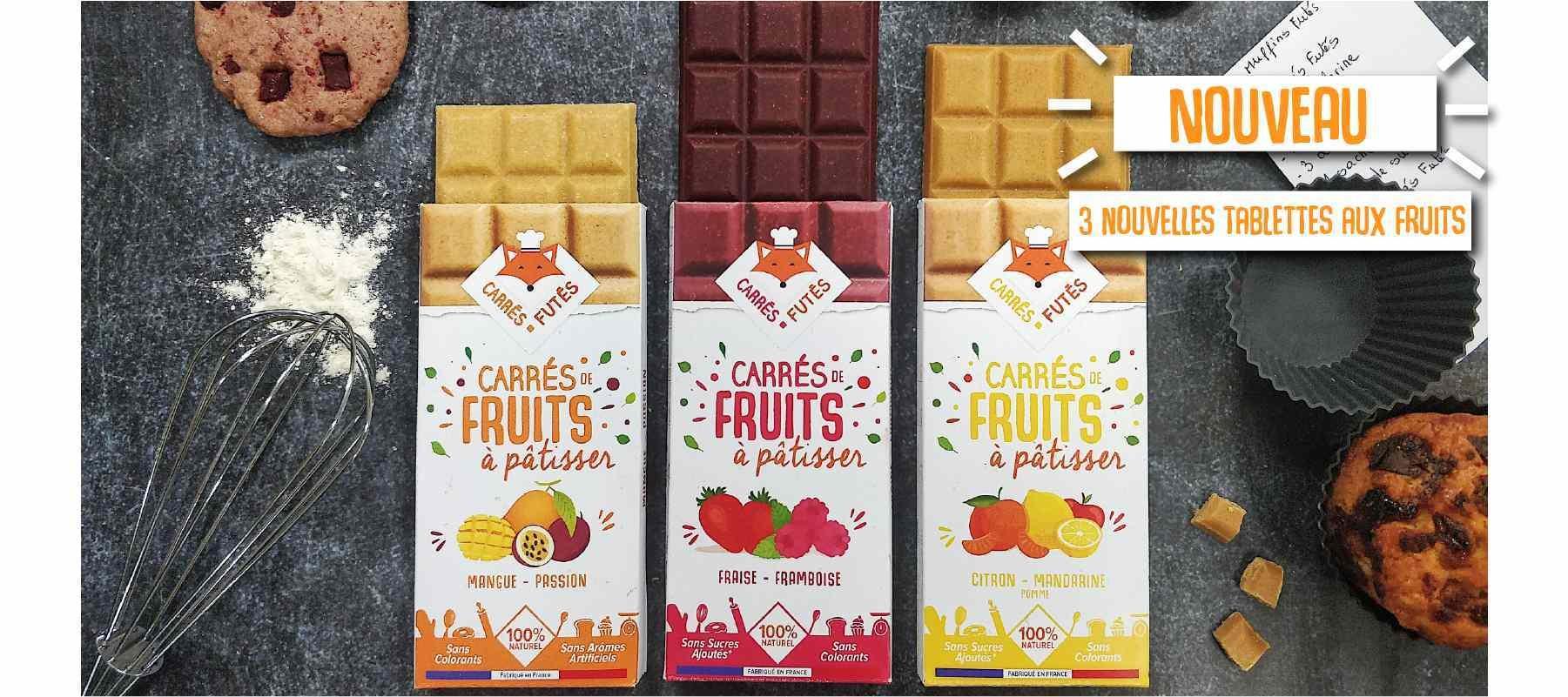 slider fruits 1800x800 1 - Carrés Futés propose ses Carrés de fruits à pâtisser