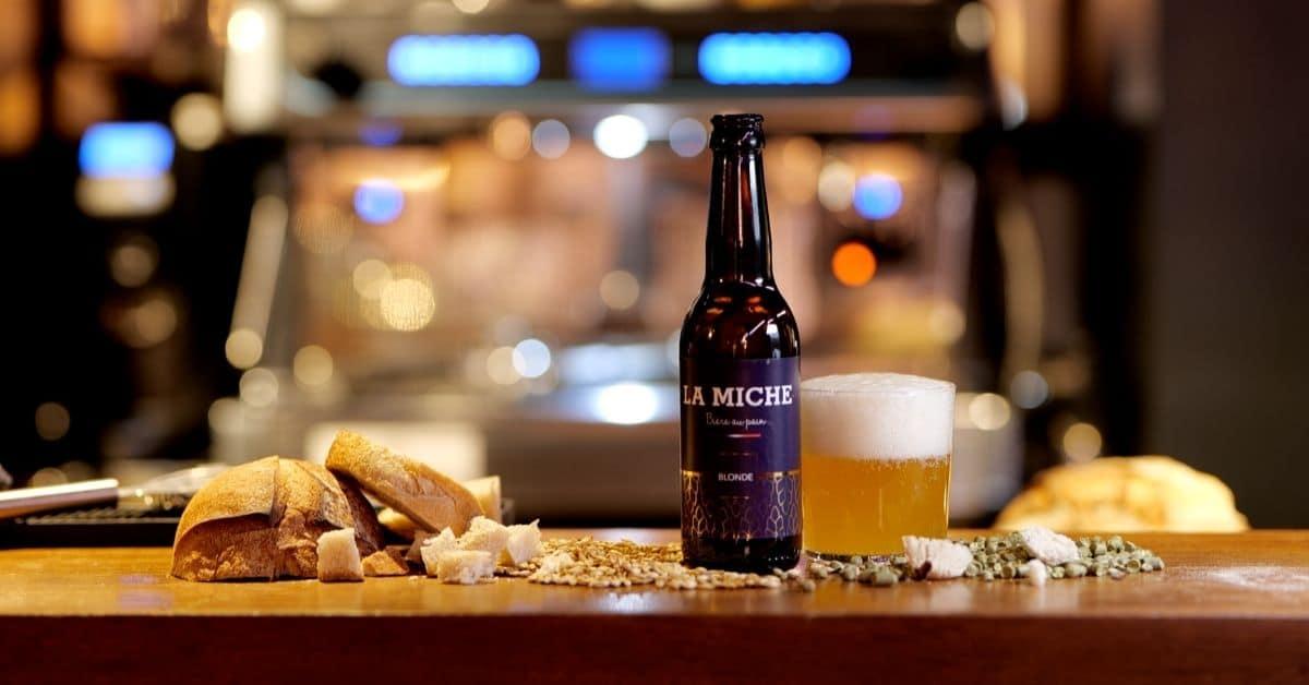 video decouvrez la miche la biere artisanale anti gaspi realisee a partir des invendus de pain une - La Miche, bière au pain