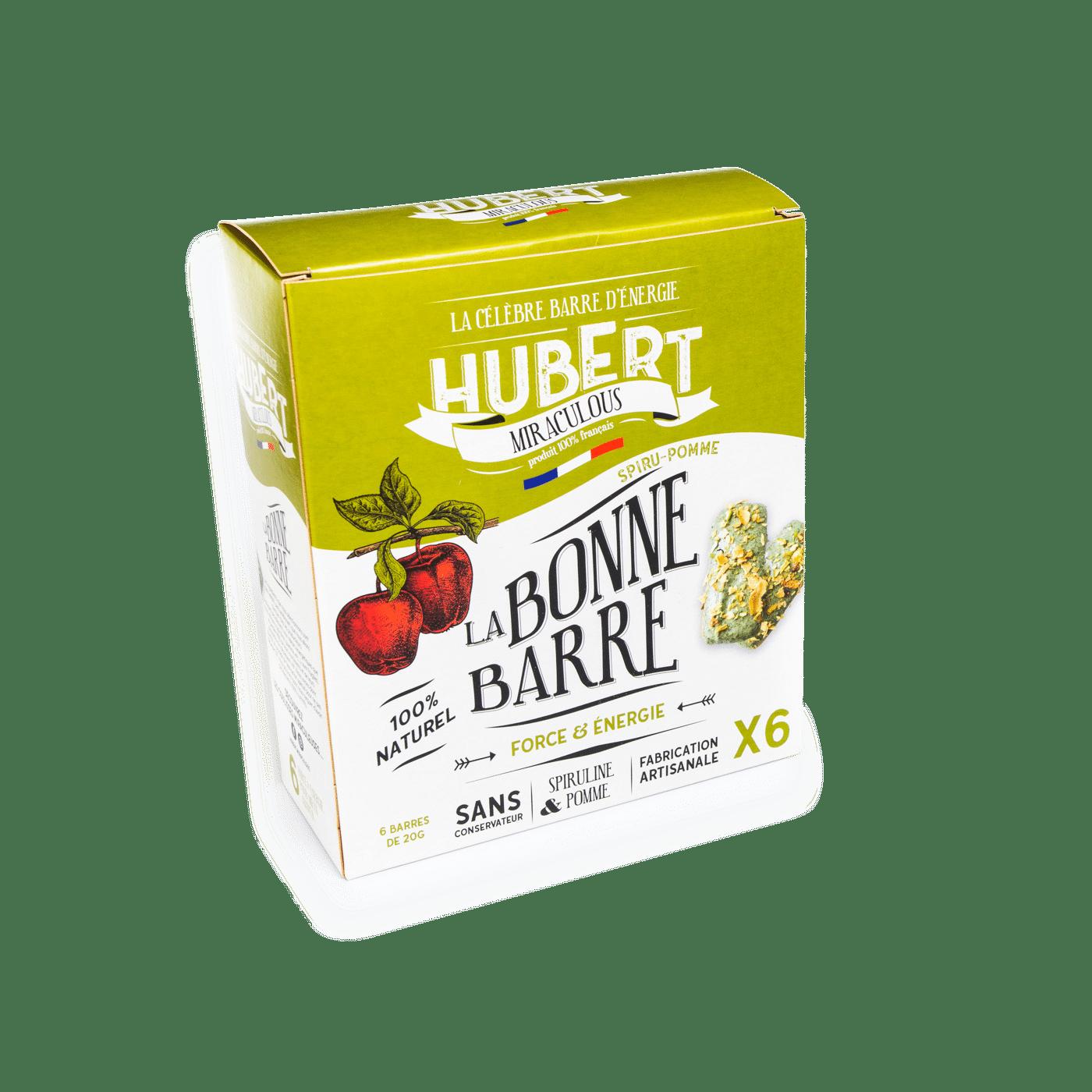 Boite 6 verte seule - Des barres chocolatées miraculeuses