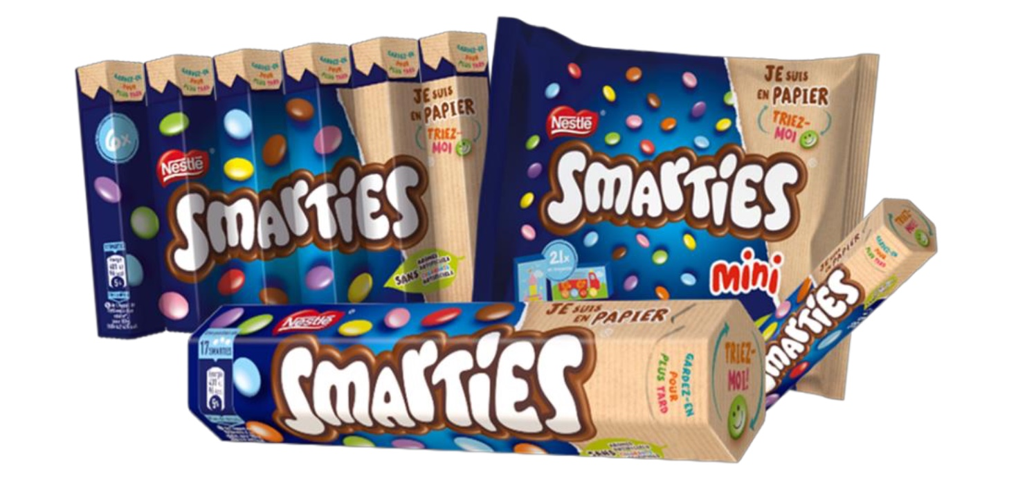 Capture decran 2021 01 27 a 15.08.37 - SMARTIES® devient la première marque internationale de confiserie à proposer des emballages en papier recyclable