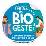 Visuel sticker BIO GESTE Paysan Breton surgeles ope bio 2021 1 150x150 - Faites un Bio geste ! avec Paysan Breton Les surgelés