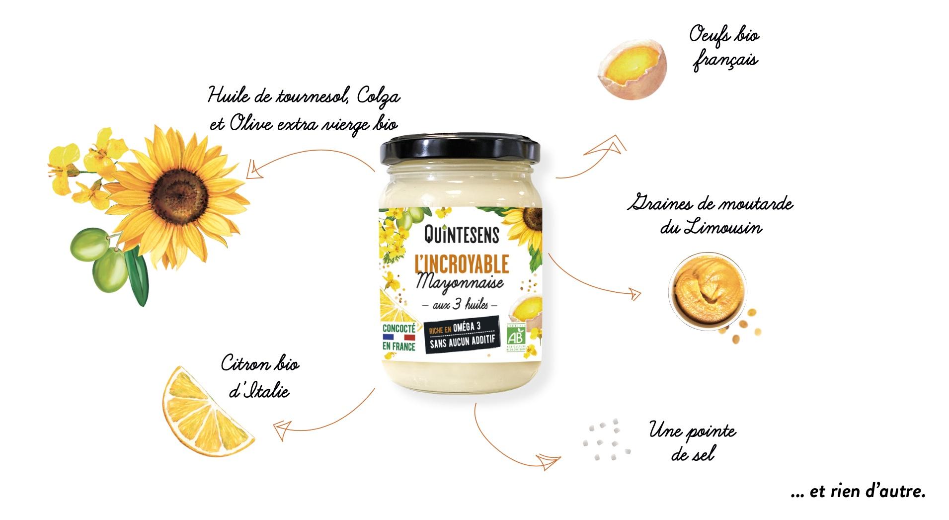 Capture decran 2021 02 19 a 15.38.18 - L'INCROYABLE Mayonnaise : Bio, saine, gourmande et française