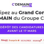 Visuel CDemain 150x150 - Concours FoodTech C'Demain par le Groupe Casino