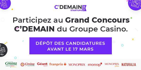 Visuel CDemain - Concours FoodTech C'Demain par le Groupe Casino