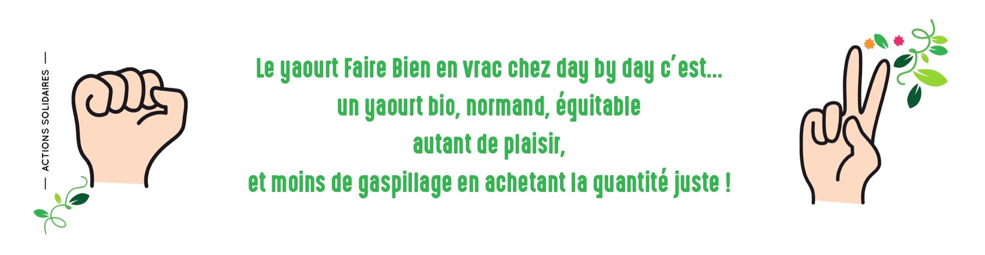 Capture decran 2021 03 10 a 16.04.49 - Le « Yaourt bio en vrac » Faire Bien S'installe chez day by day