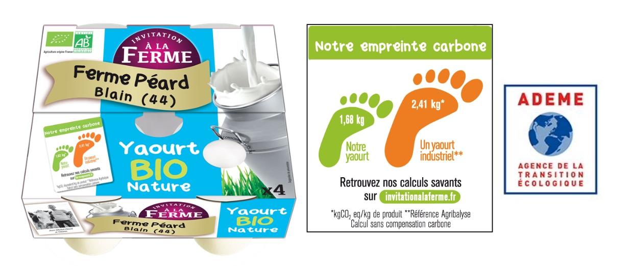 Capture decran 2021 03 24 a 11.17.28 - Une première : le yaourt le moins « carboné »