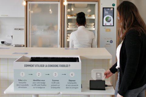 ConsignesFoodlesmars2021 480x320 - Cantine d'entreprise zéro déchets : Foodles teste l'utilisation de consignes