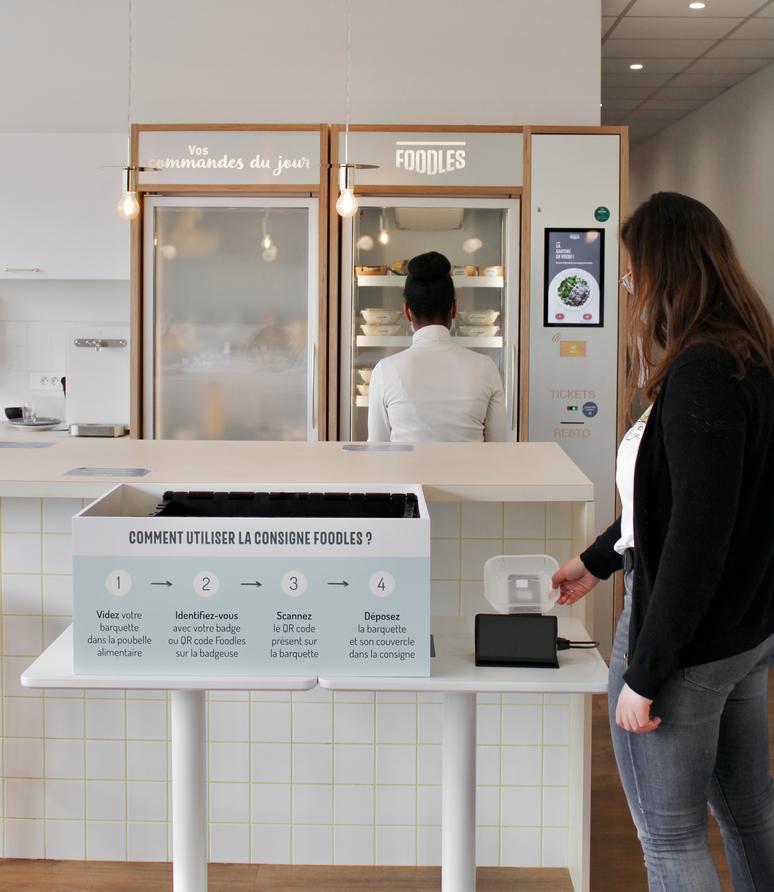 ConsignesFoodlesmars2021 - Cantine d'entreprise zéro déchets : Foodles teste l'utilisation de consignes