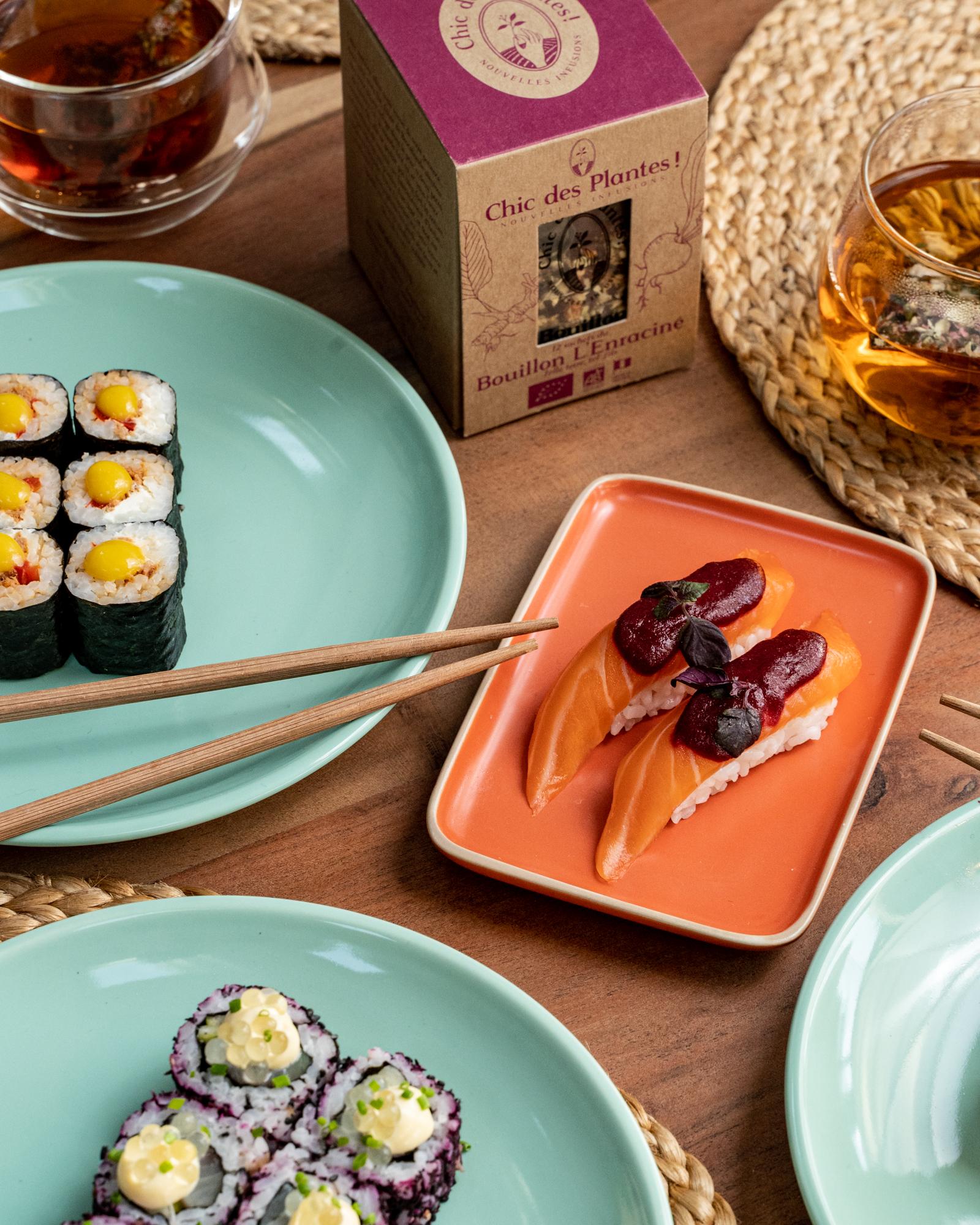 Cote Sushi 012021 Simon 29 - Quand l'exotisme de la cuisine nikkei rencontre l'univers végétal et fruité de Chic des Plantes !
