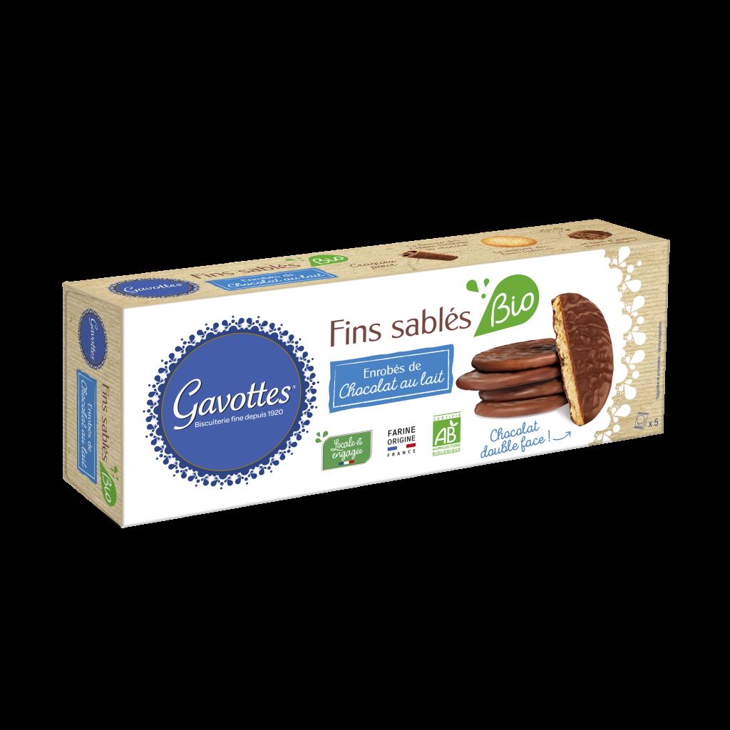 GAVOTTES FINS SABLES LAIT BIO 1 1024x1024 - Gavottes® étend son offre de biscuits