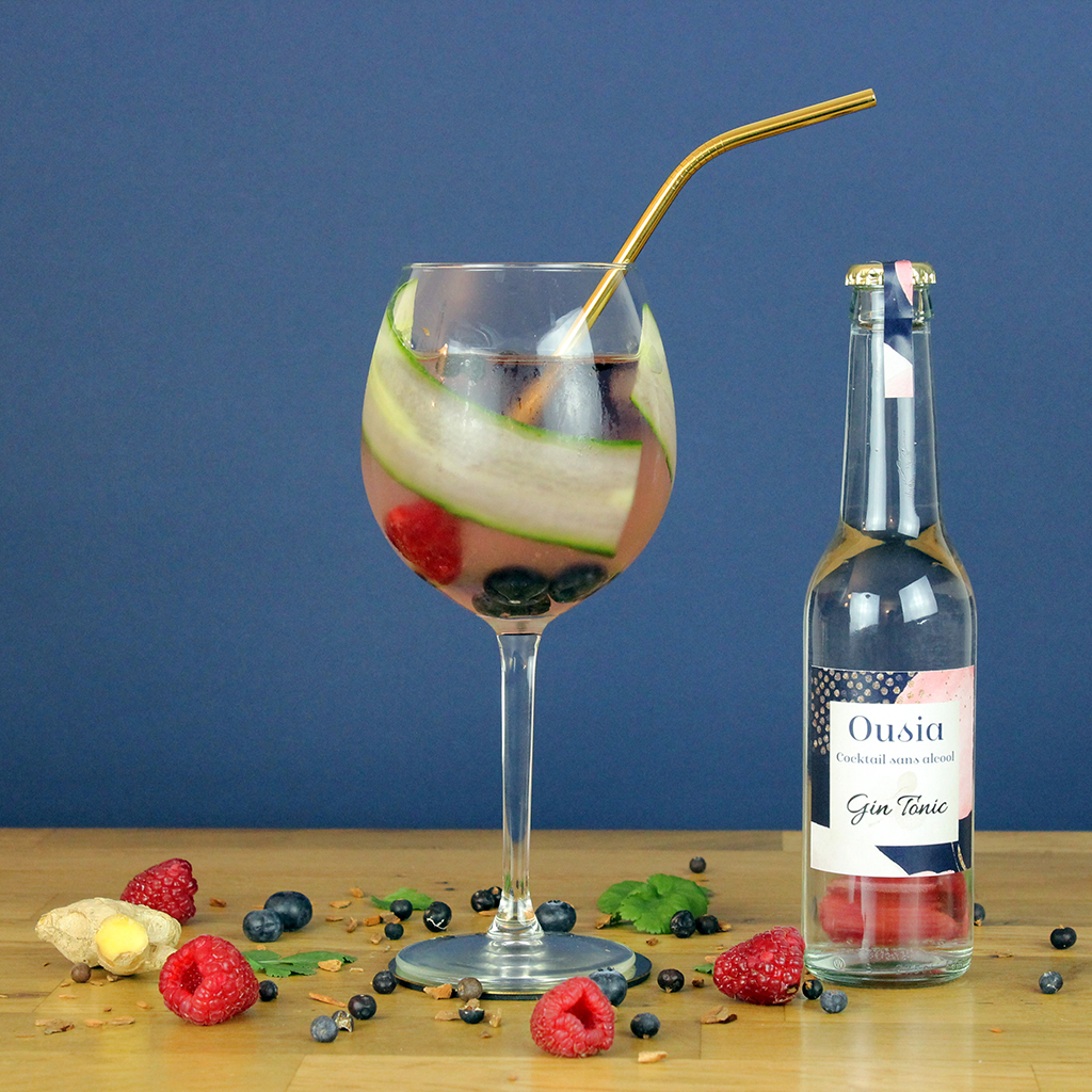 Gin Tonic - Ousia, l'essence de l'apéritif sans l'alcool
