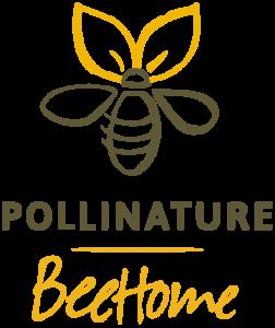 Logo BeeHome by Pollinature 252x300 - Des maisonettes pour adopter des abeilles sauvages inoffensives