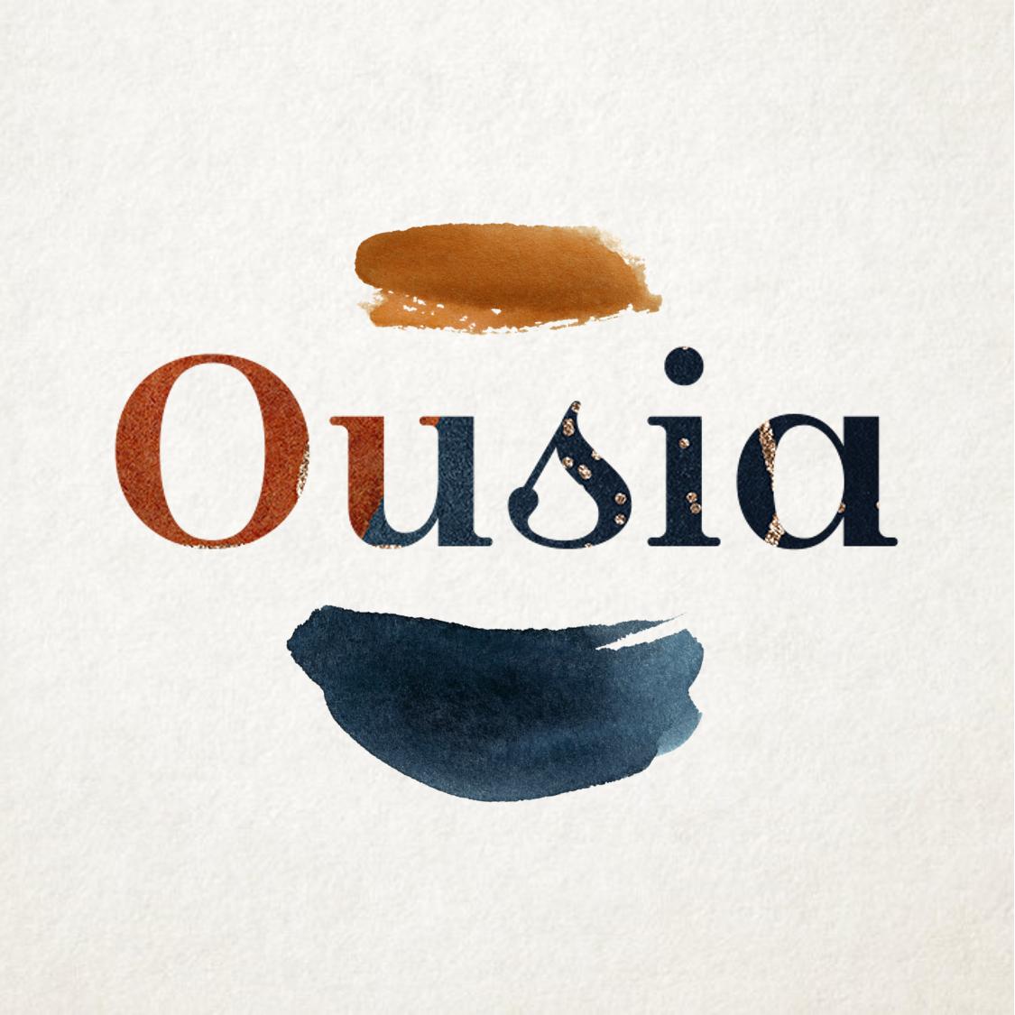 Logo Ousia - Ousia, l'essence de l'apéritif sans l'alcool
