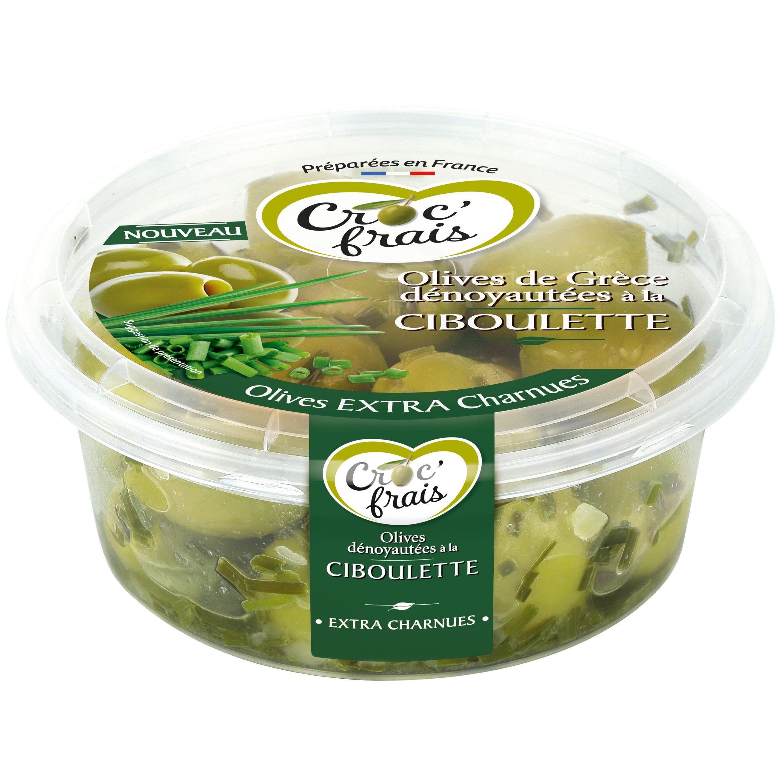 ciboulette scaled - Deux nouvelles recettes d'olives de Grèce par Croc'Frais