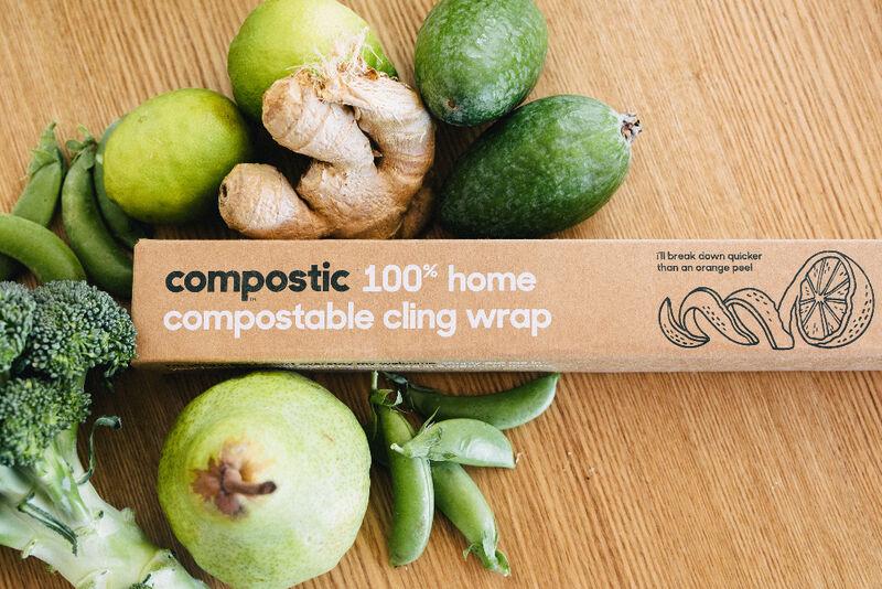 cling wraps - Un emballage compostable pour les aliments